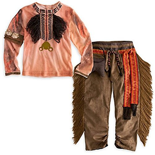 Disney Exclusive Tonto Costume from The Lone Ranger - Size 2/3