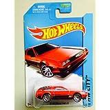 Hot Wheels HW City - 33/250 - Red 81 Delorean DMC-12