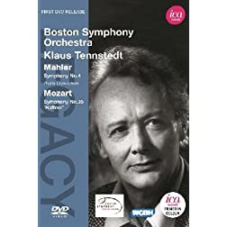 Mahler: Symphony No. 4 / Mozart: Symphony No. 35 - Boston Symphony Orchestra / Tennstedt