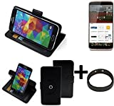 TOP SET: 360° Schutz Hülle Smartphone Tasche für ZTE