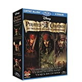 Pirates des Cara�bes - La trilogie : La mal�diction du Black Pearl + Le secret du coffre maudit + Jusqu'au bout du monde [Blu-ray]par Johnny Depp