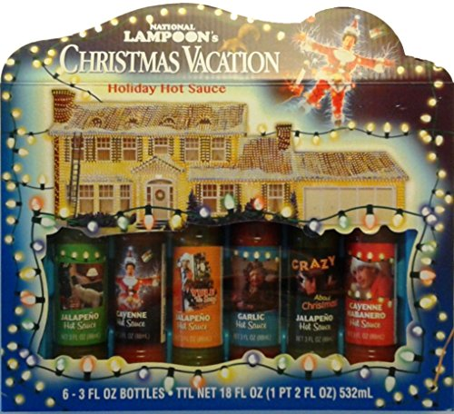 National Lampoon's Christmas Vacation Holiday Hot Sauce Gift Set