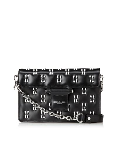 Olivia Harris Women's Hunger Erasure Clutch  [Black]