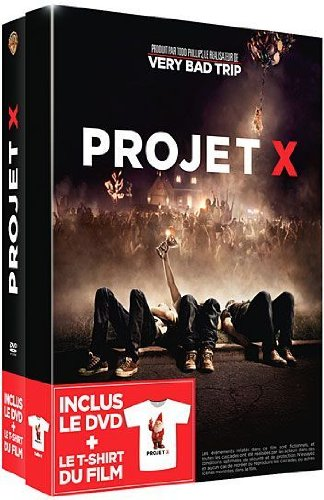 Projet X : inclus le DVD + le T-Shirt du film – Version longue non censurée