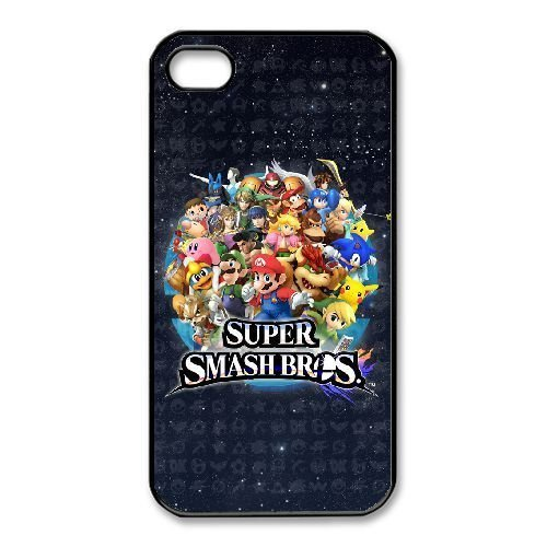 iPhone 4,4S Cases Cell phone Case Super Mario Bros Geyxv Plastic Durable Cover