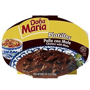 Amazon.com : Dona MariaPlatillo, Pollo con Mole, Chicken with Mole