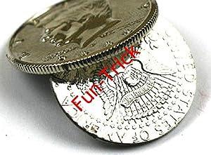 Flipper Coin - Magnetic Flipper Coin / Magic Tricks/Magic Props/Coin & Money Tricks