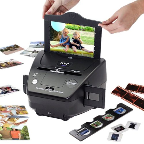 51b2MP9oPdL. SL500  NEW! SVP PS9000 black Digital Film 35mm Negative  &  Slides Scanner