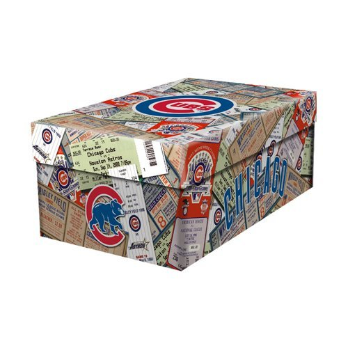 MLB Ticket Souvenir Box - Chicago Cubs (Cubs Tickets compare prices)