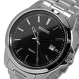 セイコー SEIKO クオーツ メンズ 腕時計 SUR155P1 ブラック [並行輸入品]