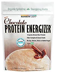 rainbow light protein energizer powder chocolate 11 oz. Black Bedroom Furniture Sets. Home Design Ideas