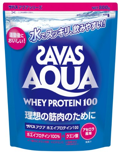 SAVAS Aqua Whey Protein 100 Acerola flavor - 800g (approx. 38 servings )