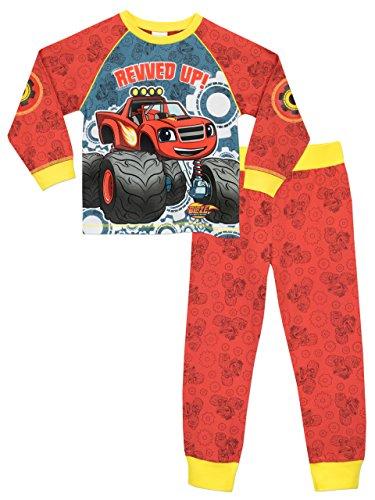 nickelodeon-blaze-est-le-monster-machine-ensemble-de-pyjamas-blaze-the-monster-machines-garcon-6-a-7
