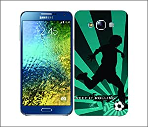 Galaxy Printed 1660 Extreme Sports soccer Hard Cover for Samsung J7