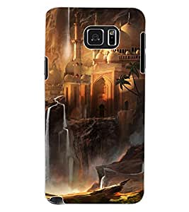 ColourCraft Beautiful Castle Design Back Case Cover for SAMSUNG GALAXY NOTE 5