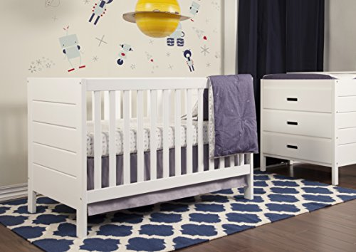 Baby Mod Modena 3 Drawer Changer Dresser White Furniture