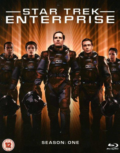 Blu-ray : Star Trek-enterprise-complete Series 1 (Blu-ray)
