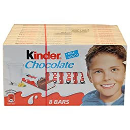 Kinder Chocolate, CASE, 10x100g