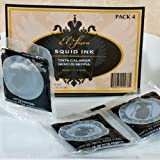 Spanish Cuttlefish (Squid) Ink - Packets - 1 Pack - 4 Pcs (.14 Oz Each)