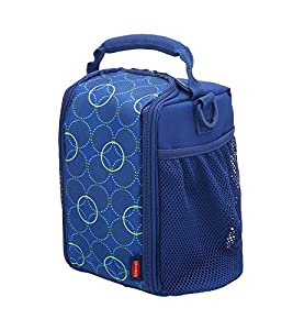 Rubbermaid  Lunch Blox small durable bag - Blue Circle