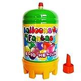 Helium Ballongas Einwegflasche 120 Liter für Ballons aus Latex oder Folienballons