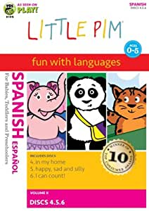 Little Pim: Spanish, Vol. 2 (Three-Disc Pack)