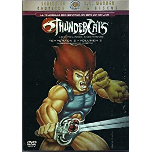Thundercats Season on Temporada 2 Volumen 2  Thundercats Season Two Volume Two   Movies   Tv