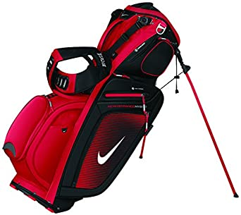 2013 Nike Golf Performance Hybrid Carry Golf Stand Bag University Red/White