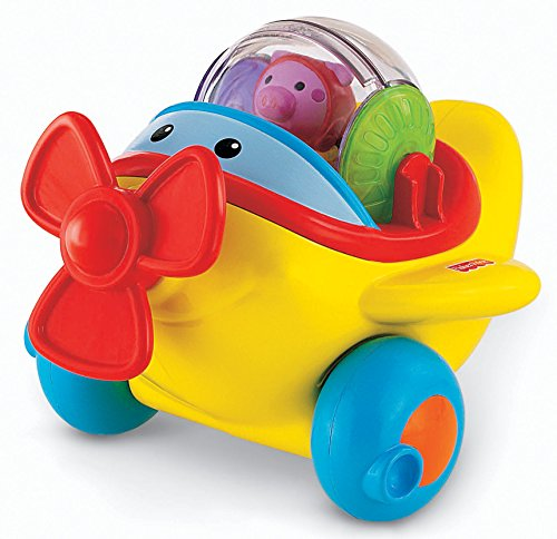 Fisher-Price Roll-A-Rounds Action Airplane - 1