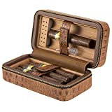 Portable Humidor Crocodile Grain