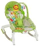Fisher Price Baby Gear BCD28 - Seggiolino Dondolino da Viaggio Cuccioli della Natura