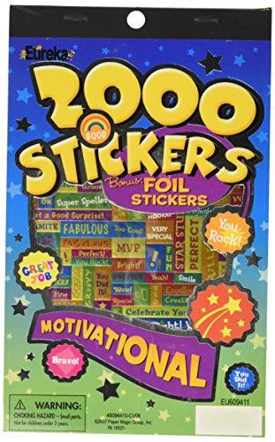 Eureka Motivational Sticker Book - 1