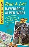 MARCO POLO Raus & Los! Bayerische Alpen West: Guide und große Erlebnis-Karte in praktischer Schutzhülle