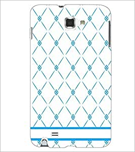 PrintDhaba Pattern D-1152 Back Case Cover for SAMSUNG GALAXY NOTE 1 (Multi-Coloured)