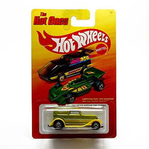 '32 FORD SEDAN DELIVERY (LIME GREEN) * The Hot Ones * 2011 Release of the 80's Classic Series - 1:64 Scale Throw Back HOT WHEELS Die-Cast Vehicle