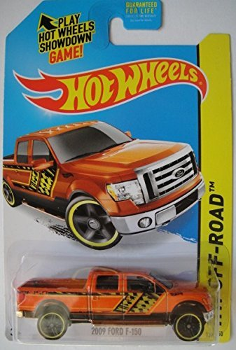 2014 Hot Wheels Hw Off-Road 2009 Ford F-150 - Orange [Ships in a Box!]