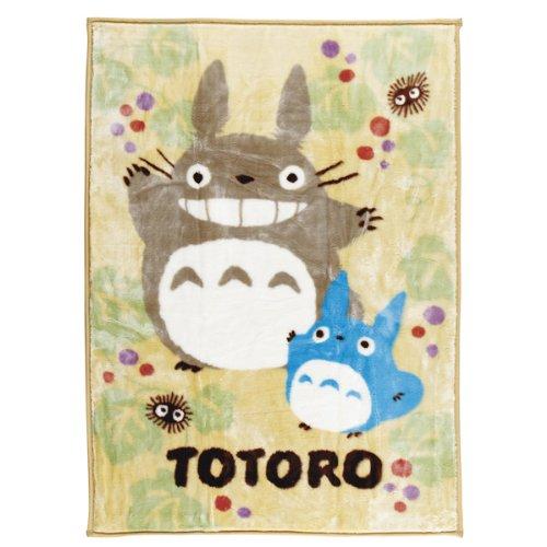 Round, Totoro rested half acrylic blanket 560526