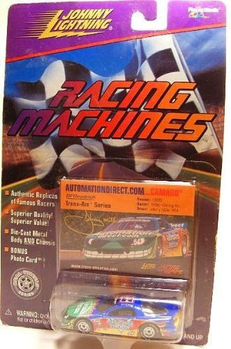 1999 - Playing Mantis - Johnny Lightning - Racing Machines - Performed Line Products - Ford Mustang Cobra - Trans-Am Series - Randy Ruhlman #49 - Performed Coyote Car - 1:64 Scale Die Cast - Bonus Photo Card - Very Rare - MOC - Out of Production - Limited Edition - Collectible