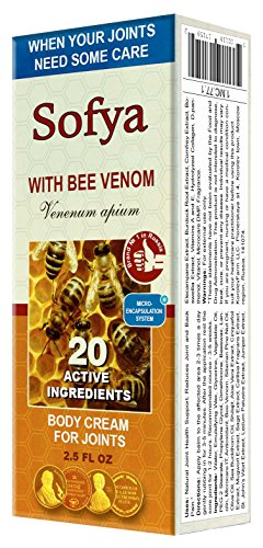 """Sofya"" Cream for Joints with Bee Venom 75ml/2.5 Fl Oz"