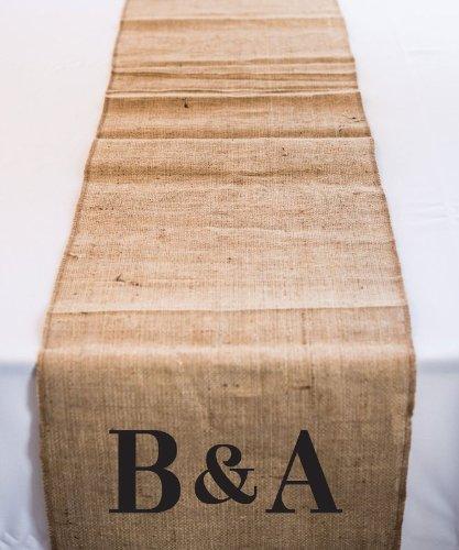 9422WS Burlap Table Runner 90 / 2.3m long,120 / 3.0m long Wedding Baby Shower Fa