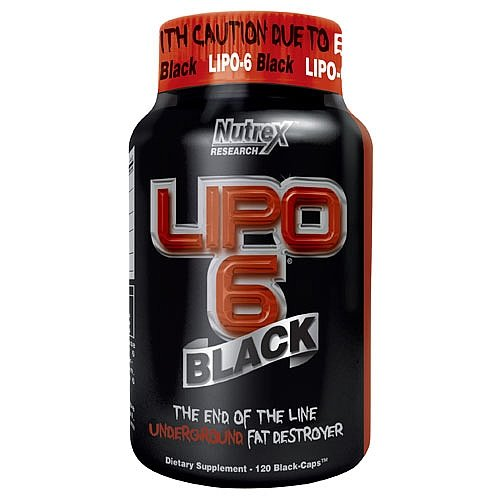 Lipo 6 Black Review Nutrex Weightloss Formula Review