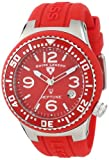 Swiss Legend Women's 11044P-05 Neptune Red Dial Red Silicone Watch