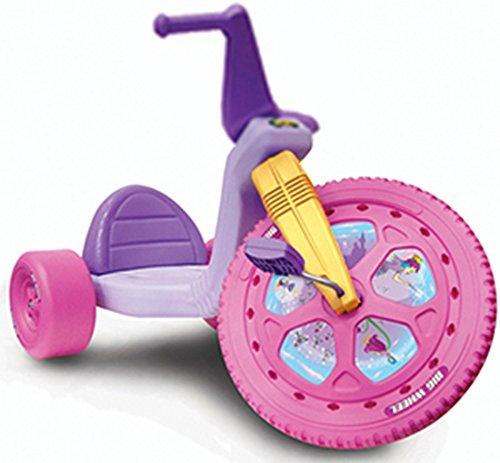 "The Original Princess Big Wheel 16"" Trike - Purple & Pink w/ Yellow Fork"