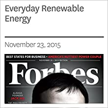 Everyday Renewable Energy (       UNABRIDGED) by Christopher Helman Narrated by Daniel May