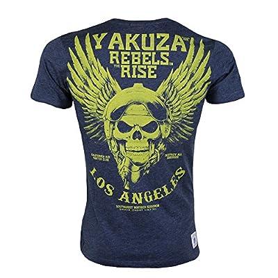 Yakuza Premium T-Shirt 1719 navy meliert