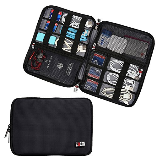 BUBM-Universal-Double-Layer-Travel-Gear-Organizer-Electronics-Accessories-Bag-Battery-Charger-Case