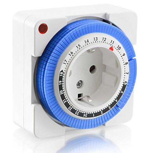 arendo-timer-meccanico-24h-24-ore-plug-in-timer-96-segmenti-di-commutazione-regolatore-a-cursore-per