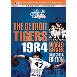 1984 Detroit Tigers World Series Collectors Ed