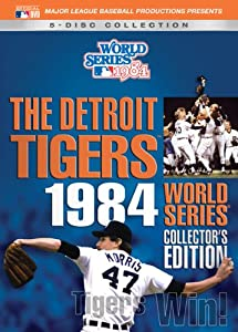 1984 Detroit Tigers World Series Collectors Ed