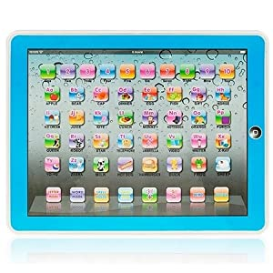 Y-pad Ypad English Computer Table Learning Education Machine Tablet Toy Gift for Kids Boys by Ypad Blue